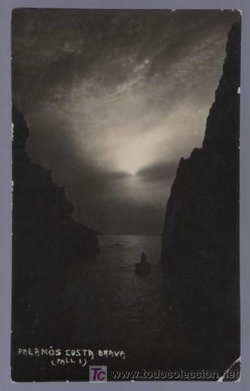 TARJETA POSTAL FOTOGRÁFICA DE GERONA. PALAMOS COSTA BRAVA. (Postales - España - Cataluña Antigua (hasta 1939))
