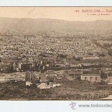 Postales: BARCELONA - VISTA PARCIAL. Lote 13564459