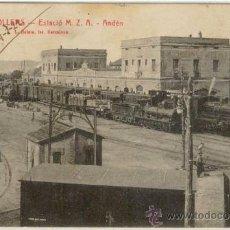 Postales: (PS-11609)POSTAL DE GRANOLLERS-ESTACION FERROCARRIL M.Z.A. ANDEN. Lote 13572794