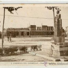 Postales: (PS-11693)POSTAL DE CORNELLA DE LLOBREGAT-PLAZA DEL CAUDILLO. Lote 13582863
