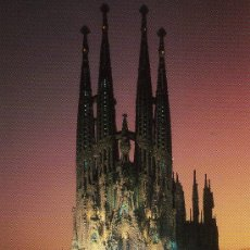 Postales: BARCELONA SAGRADA FAMILIA. Lote 13602495
