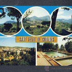 Postales: POSTAL DE SANT FELIU DE CODINES (BARCELONA): 5 VISTES (ESCUDO DE ORO NUM.2). Lote 13628566