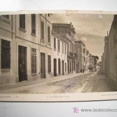 Postales: POSTAL MASNOU: CALLE MESTRES VILA (MAVE 15). Lote 13643919
