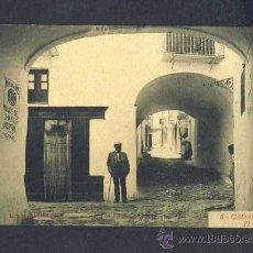 Postales: POSTAL DE CADAQUES (GIRONA): EL CALL (ROISIN NUM.6). Lote 13732551