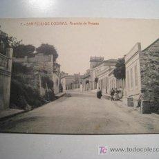 Postales: POSTAL S FELIU CODINAS: AVENIDA DE VERANO. Lote 13744563