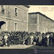 Postales: POSTAL DE FIGUERES (GIRONA): CASTELL, MENJANT EL RANXO (ROISIN, ED.J.SERRA NUM.10) (ANIMADA). Lote 13765549