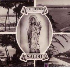 Postales: POSTAL RAYMOND Nº 60 RECUERDO DE SALOU ESCRITA NO CIRCULADA. Lote 26673203