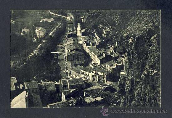 POSTAL DE RIBES DE FRESSER (GIRONA): VISTA PARCIAL I A L' ESQUERRA EL PASSEIG GUIMERÀ (ROISIN NUM.8) (Postales - España - Cataluña Antigua (hasta 1939))