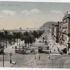 Postales: BARCELONA. PASEO COLON. CIRCULADA. Lote 13867473