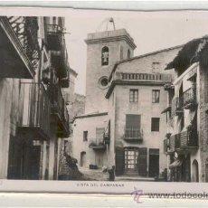 Postales: (PS-12212) POSTAL FOTOGRAFICA DE ISONA(LLEIDA)- VISTA DEL CAMPANAR. Lote 13949440