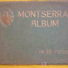 Postales: MONTSERRAT ALBUM. DE 69 VISTAS. ROCA L. FOTOS EN NEGRO. Lote 14028717