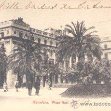 Postales: BARCELONA- PLAZA REAL. Lote 13987107