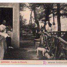 Postales: TARJETA POSTAL DE LA GARRIGA, BARCELONA Nº 10. FUENTE DE BALSELLS. FOTOTIPIA THOMAS. Lote 14121977