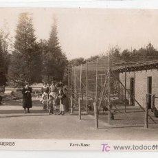 Postales: TARJETA POSTAL DE FIGUERES, GIRONA Nº 17. PARC-BOSC. EDICIO TRAYTER. Lote 14122115