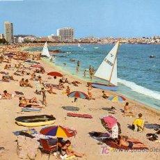 Postales: PALAMOS (GERONA) - PLAYA - CYP 1968. Lote 14247436