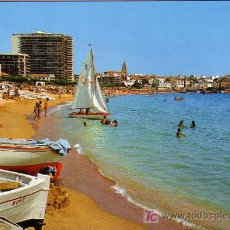 Postales: PALAMOS (GERONA) - PLAYA - CYP 1973. Lote 14247449