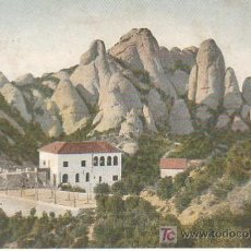 Postales: POSTAL DEL MONASTIR DE MONTSERRAT - DE J.THOMAS . Lote 14520939