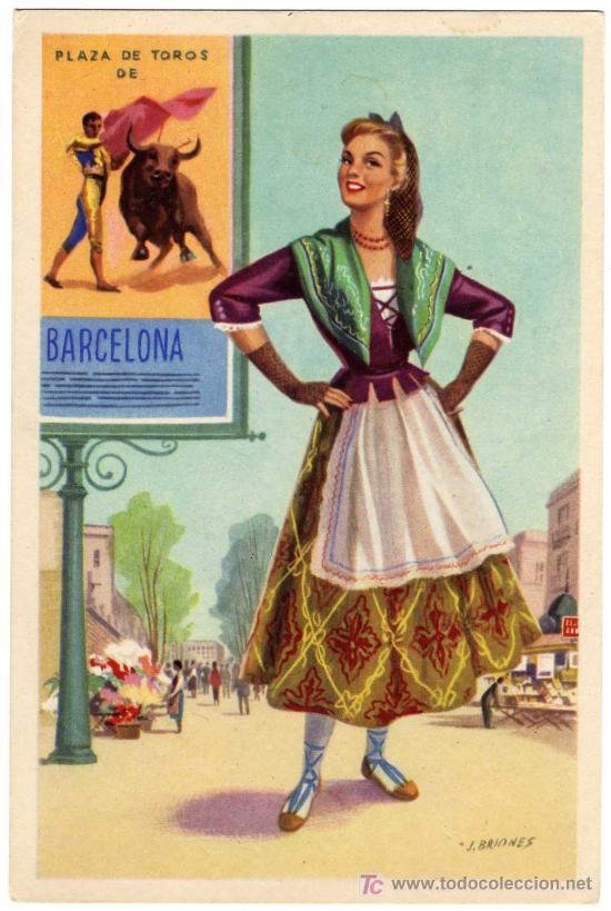 traje Barcelona mujer