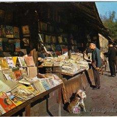 Postales: PRECIOSA POSTAL - BARCELONA - MERCADO DE LIBROS DE LANCE . Lote 24953880