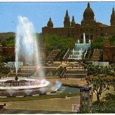 Postales: BONITA POSTAL - BARCELONA - PARQUE DE MONTJUICH - FUENTE MAGICA . Lote 14689996