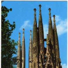 Postales: BONITA POSTAL - BARCELONA - TEMPLO EXPIATORIO DE LA SAGRADA FAMILIA . Lote 14690069