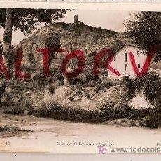 Postales: ANTIGUA POSTAL 16 TONA CAMINO DE LOURDES Y CASTILLO EDIT FOTO PLA ESCRITA. Lote 14713352