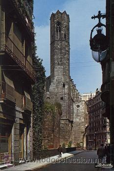 ZERKOWITZ (BARRIO GÓTICO DE BARCELONA 1969) (Postales - España - Cataluña Moderna (desde 1940))