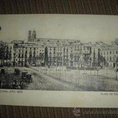 Postales: POSTAL BARCELONA, AÑO 1870. Lote 21772739