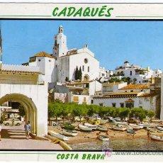 Postales: PRECIOSA POSTAL - CADAQUES (GERONA) - VISTA PARCIAL - COSTA BRAVA . Lote 14804371