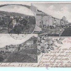 Postales: POSTAL DE BAGUR - CIRCULADA DE BARCELONA A CUBA EL AÑO 1905 CON EL SELLO DE EPOCA. Lote 24788844