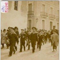Postales: (PS-12798)POSTAL FOTOGRAFICA DE VILAFRANCA DEL PANADES-BANDA DE MUSICA. Lote 14814061