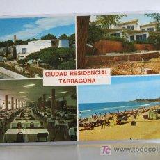 Postales: POSTAL TARRAGONA. CIUDAD SINDICAL. OBRA SINDICAL EDUCACION Y DESCANSO. DIVERSAS VISTAS. Lote 26607908