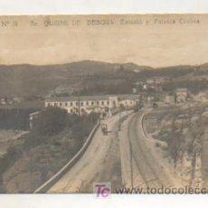 Postales - SANT QUIRSE DE BESORA. ESTACIÓ DEL FERROCARRIL I FABRICA CODINA. (B P Nº 10). POSTAL FOTOGRÁFICA. - 14864591