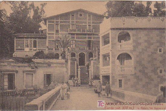 PS0100 ANIMADA POSTAL DE ARBUCIAS DE LA TORRE ROGUER I CAN XACRIS SIN CIRCULAR DE ROISIN (Postales - España - Cataluña Antigua (hasta 1939))
