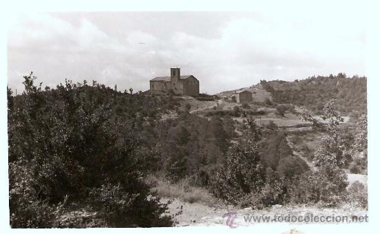 POSTAL DEL SANTUARI DE PINOS , SOLSONES (Postales - España - Cataluña Antigua (hasta 1939))