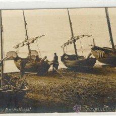 Postales: (PS-12944)POSTAL FOTOGRAFICA DE MONGAT-BARCAS DE PESCA. Lote 14960865