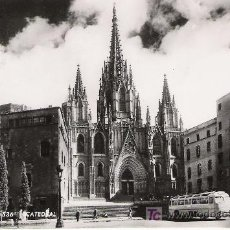 Postales: BARCELONA - CATEDRAL - AÑOS 50 -. Lote 14997093