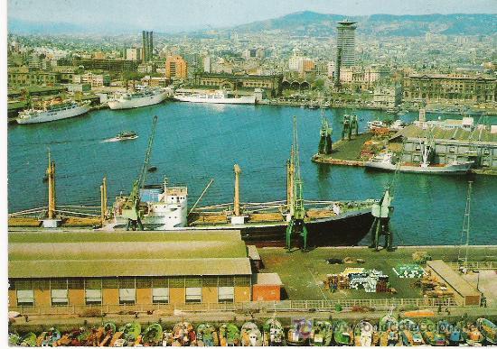 BARCELONA - EL PUERTO - (Postales - España - Cataluña Moderna (desde 1940))