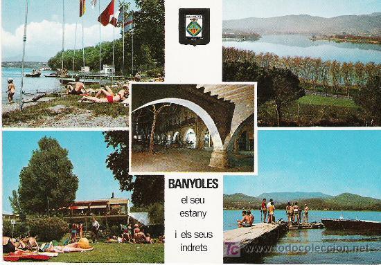 BANYOLES (Postales - España - Cataluña Moderna (desde 1940))