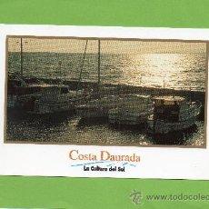 Postales: TARRAGONA. COSTA DAURADA. COSTA DORADA. PUERTO. LITORAL. SIN CIRCULAR. ATARDECER. Lote 27256119