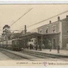 Postales: (PS-13013)POSTAL DE LA GARRIGA-ESTACION DEL FERROCARRIL. Lote 15004420