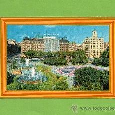 Postales: BARCELONA. PLAZA CATALUÑA. EL CORTE INGLÉS. ARIN. AVECREM. TELEFÓNICA. SIN CIRCULAR.. Lote 27406207