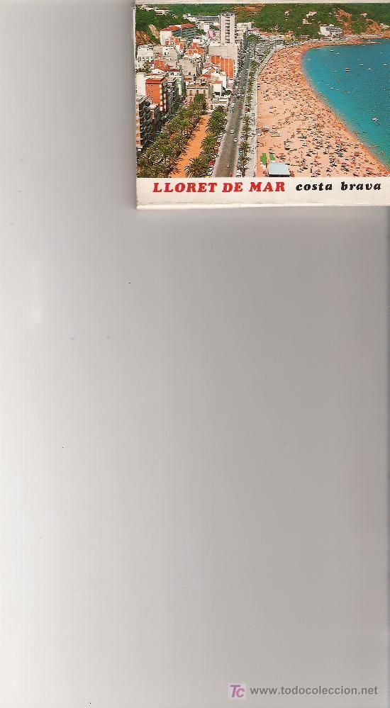 LLORET DE MAR - MINIBLOCK CON 17 IMAGINES VARIADAS - (Postales - España - Cataluña Moderna (desde 1940))