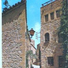 Postales: POSTAL DE PALS - CALLES TIPICAS . Lote 15040594