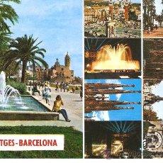 Postales: POSTAL DE SITGES . Lote 15040848
