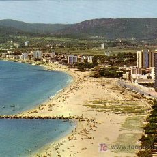 Postales: PALAMOS (GERONA) - FINAL PASEO MARITIMO - ESCUDO DE ORO 1968. Lote 15048760