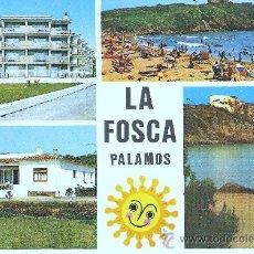 Postales: POSTAL DE LA FOSCA PALAMOS - ESCRITA SIN SELLO. Lote 15056161