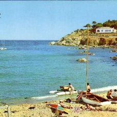 Postales: PALAMOS (GERONA) - LA FOSCA - LAMINOGRAF 1965. Lote 15094784