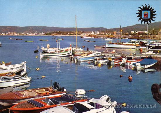 PALAMOS (GERONA) - CLUB MARITIMO - LAMINOGRAF 1965 (Postales - España - Cataluña Moderna (desde 1940))