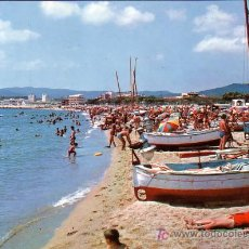 Postales: PALAMOS (GERONA) - PLAYA - A. CAMPAÑA 1965. Lote 15094969